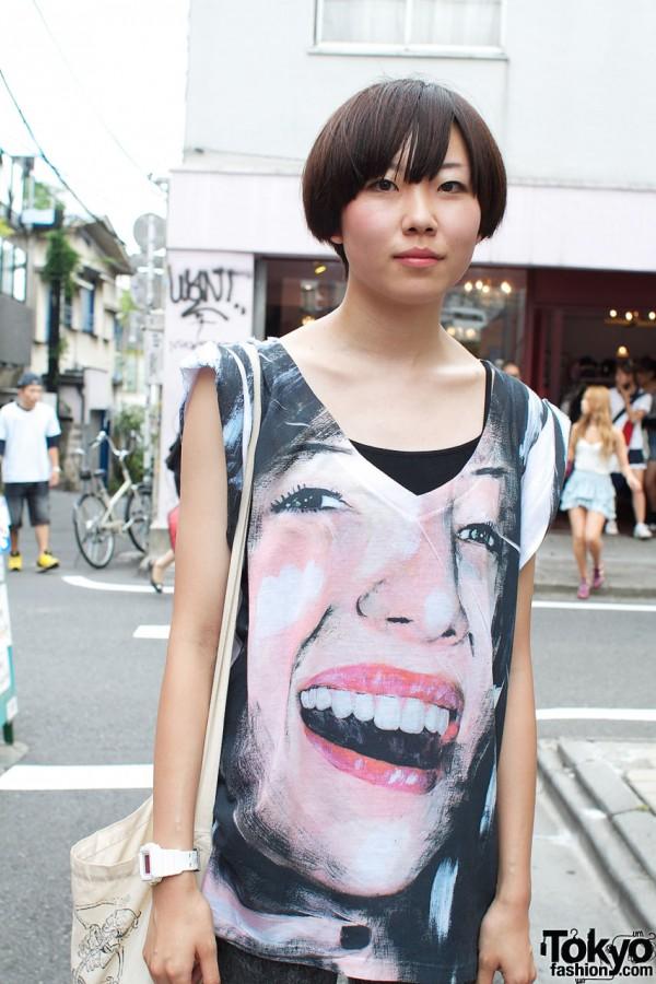 Eye-catching t-shirt