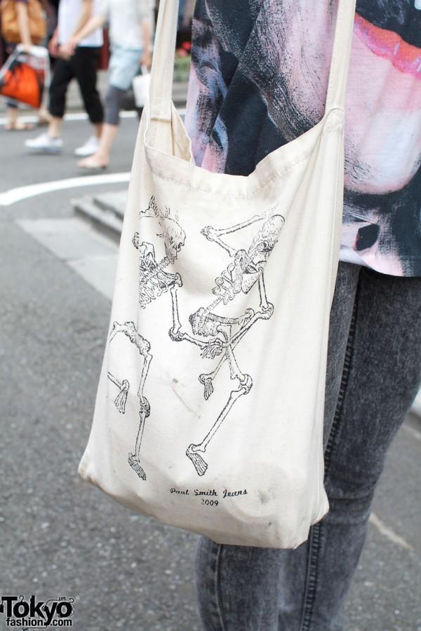 Paul Smith Jeans cotton bag