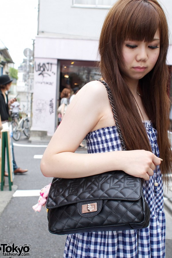 Quilted Delyle purse from Ozoc