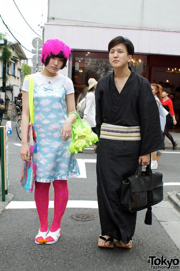 World Wide Love & Spank Me vs. Kimono & Getas
