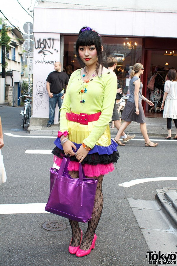 Handmade Ruffled Skirt & Baby Shoup Bag
