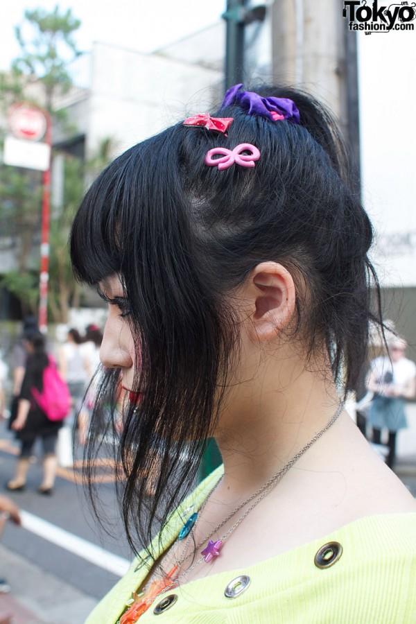 Plastic hair clips