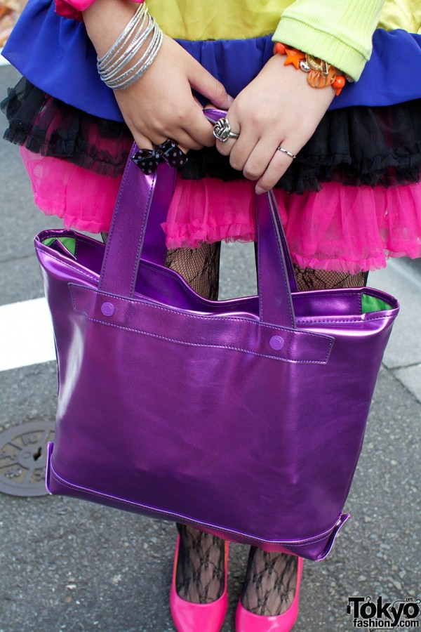 Purple Baby Shoup bag