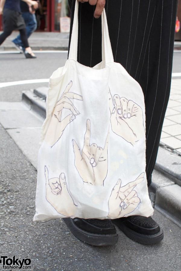 Muji x World bag