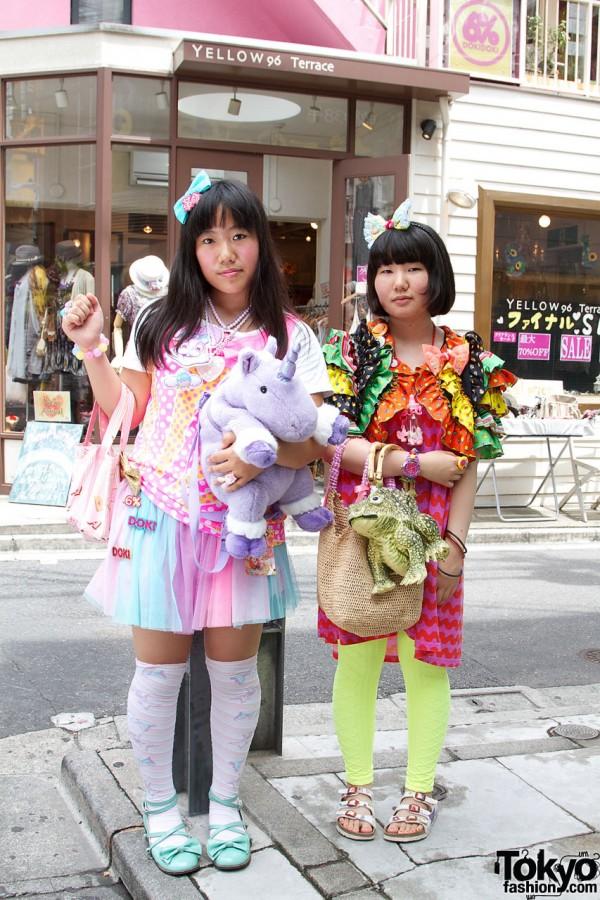 Cute Girls in 6%DokiDoki Clothes & Accessories