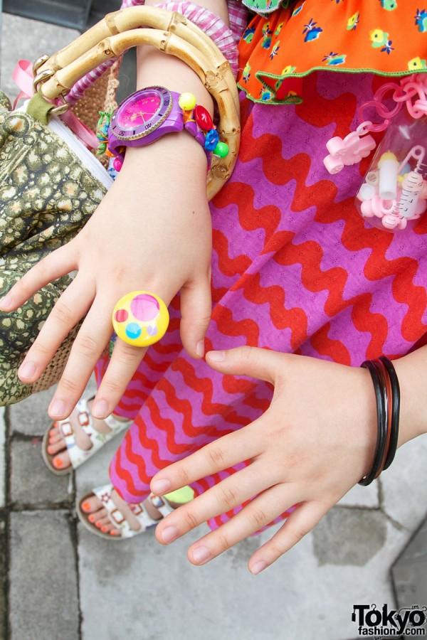 6%DokiDoki plastic jewelry