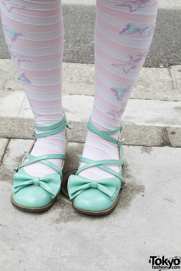 Angelic Pretty shoes with bows