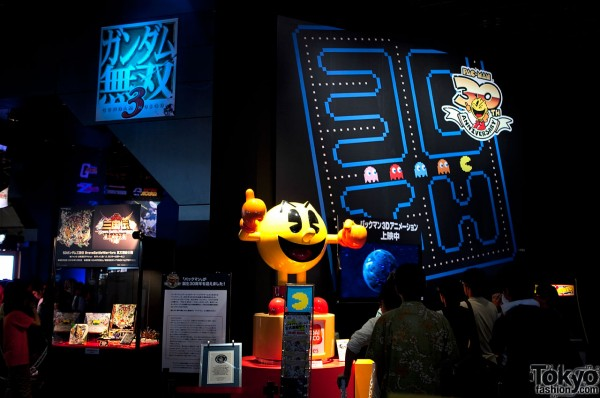 Pacman at Tokyo Game Show