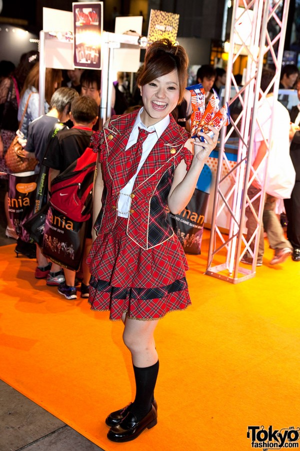 Cute Girl at Tokyo Game Show