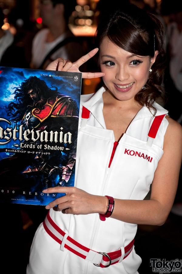 Castlevania Girl at Tokyo Game Show