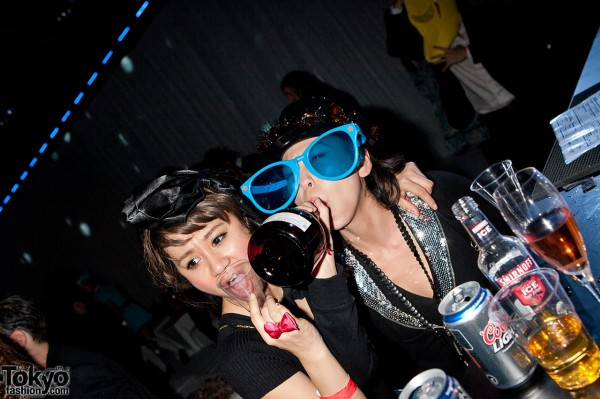 Partying Hard in Tokyo