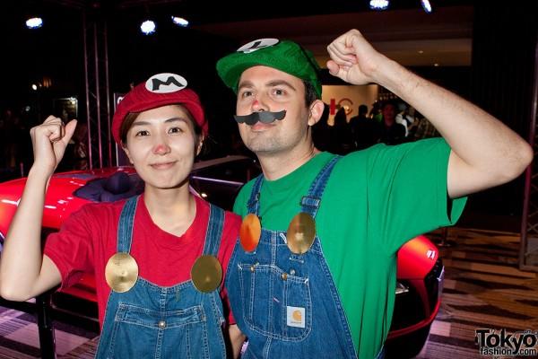 Mario & Luigi at Le Baron Tokyo