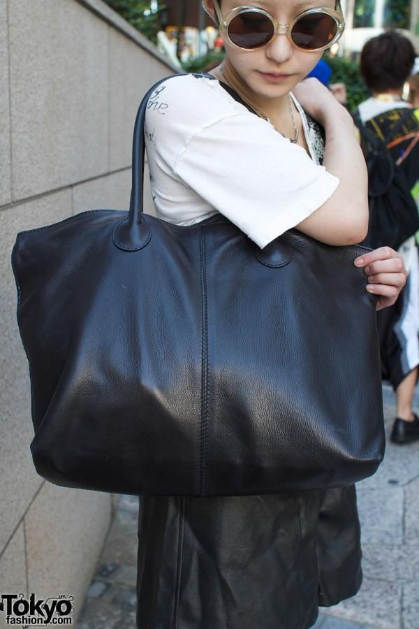 Black Bottega bag