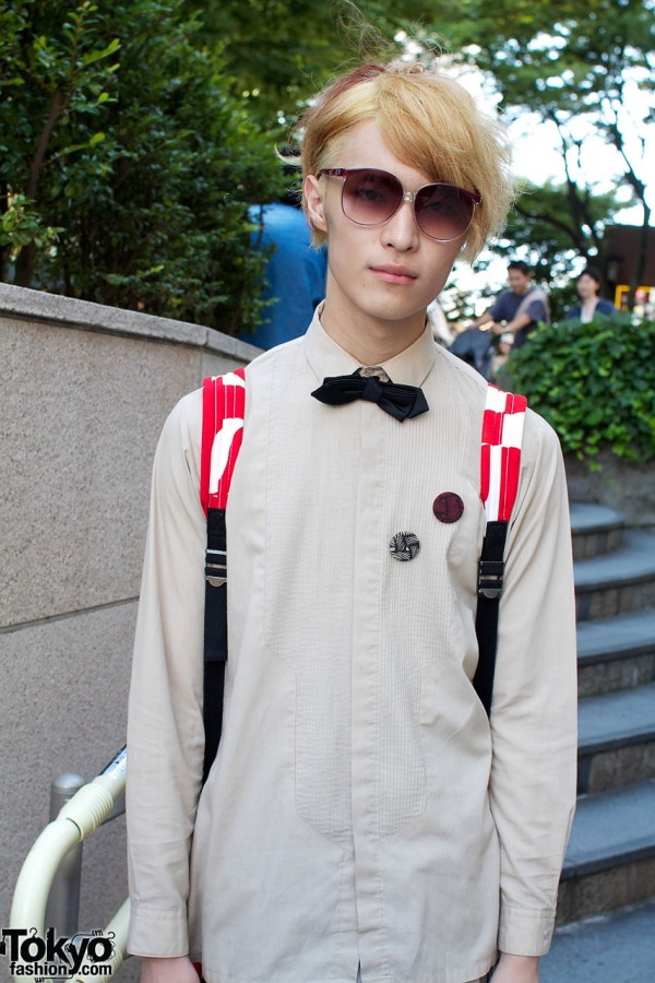 Potto by Mikiri Hassan shirt & black bow tie