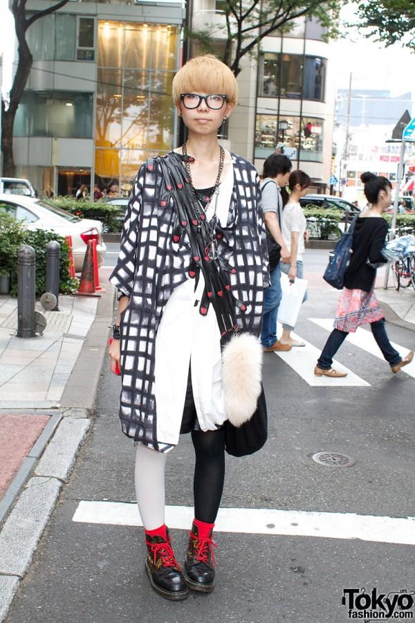 Monomania coat & Romantic Standard purse