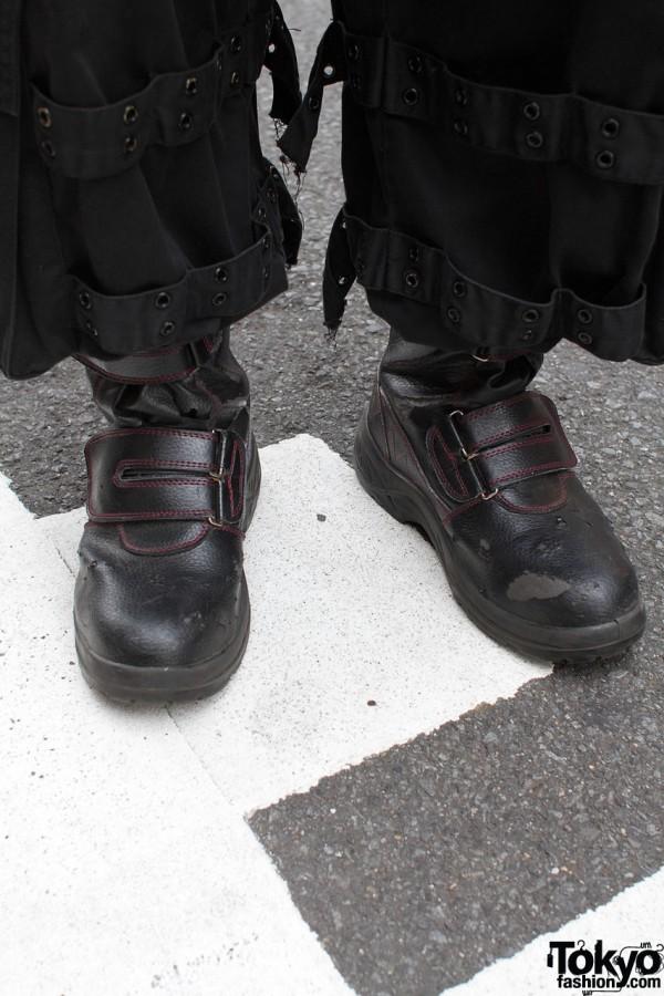 Hot Topic pants & black boots