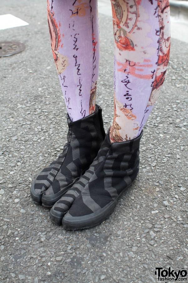 Sou Sou jikatabi boots