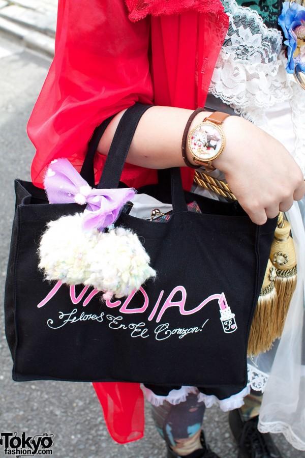 Nadia bag & large watch
