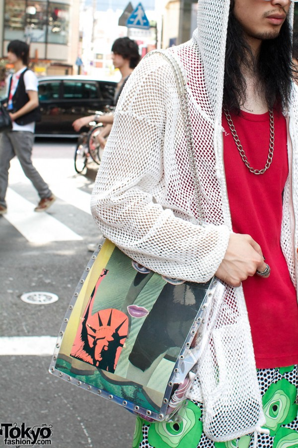 Kinji parka, @stylist bag