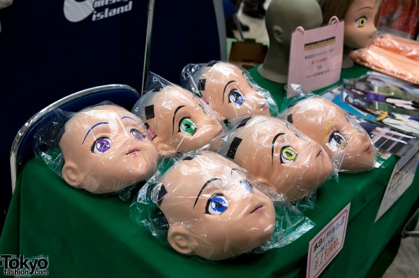 Doll Heads at Design Festa