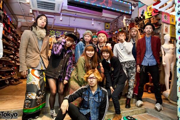 Spinns Harajuku Staff
