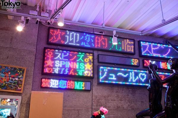 Spinns Harajuku Signs