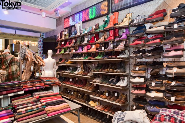 Spinns Harajuku Footwear