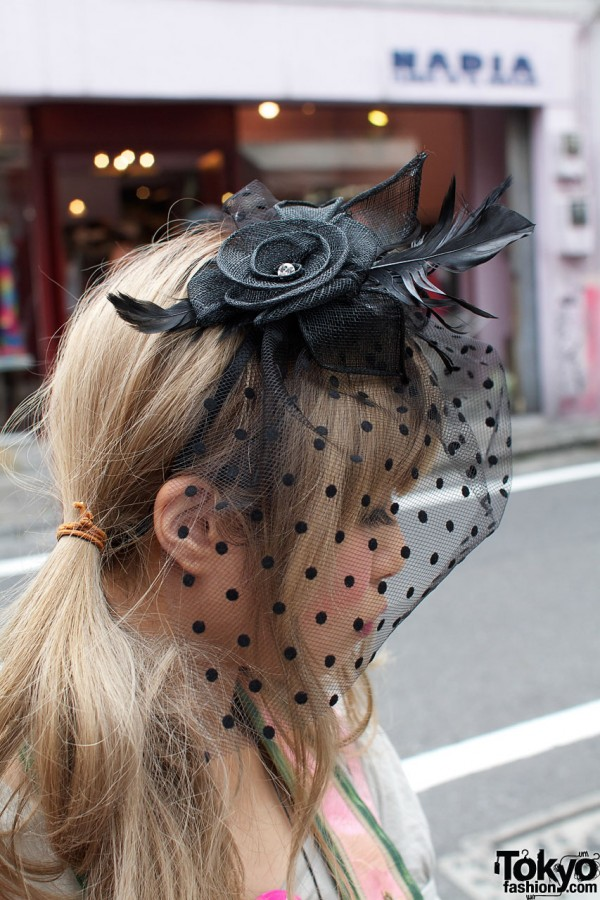 Dolly Kei Lace Headpiece