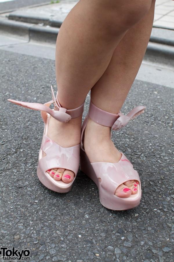Melissa x Vivienne Westwood Wing Shoes