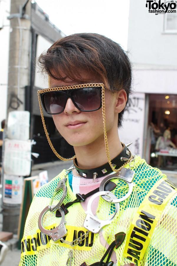 Gold Chain Sunglasses