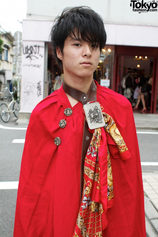 Red Cape in Harajuku