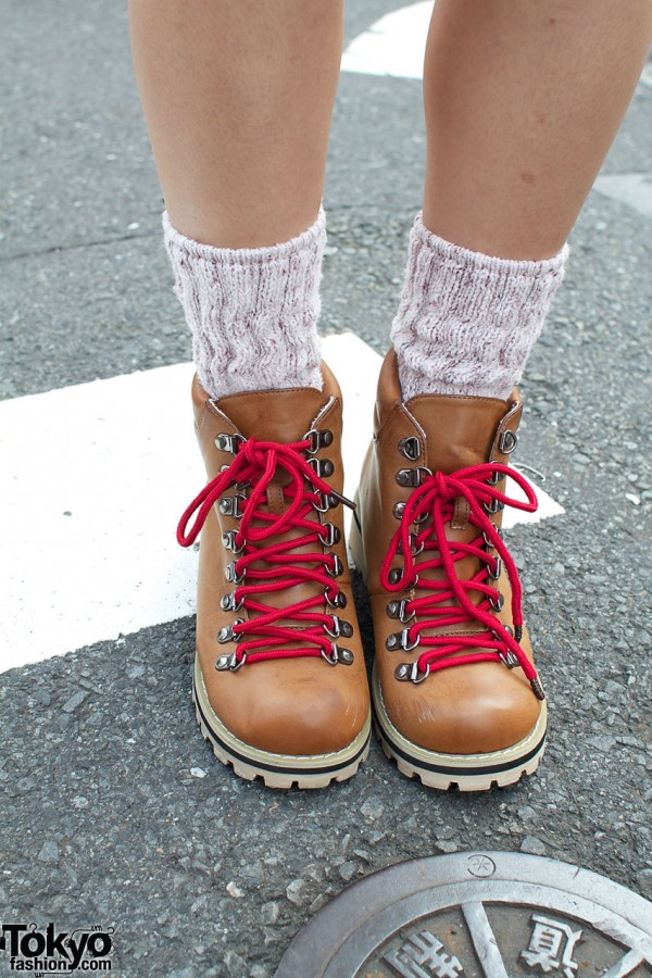Sango suede hiking boots