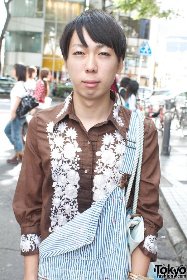 Mikiri Hassin embroidered shirt