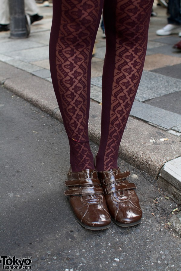 Anna Sui tights & resale store shoes
