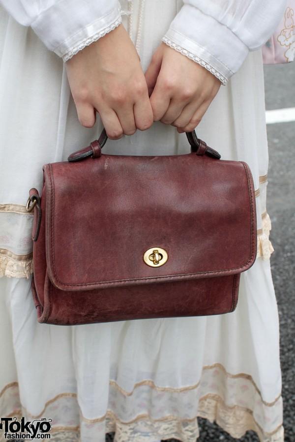 Tarock leather purse