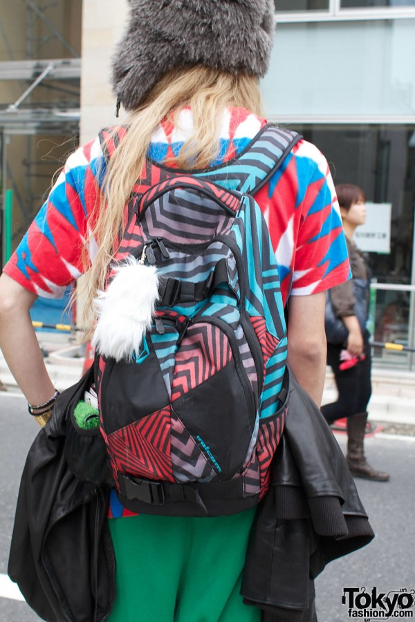 Volcom graphic backpack