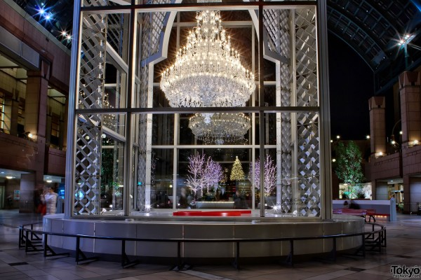 Baccarat Eternal Lights Christmas Chandelier