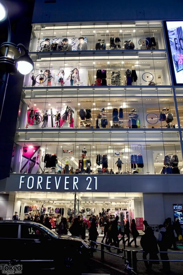 Forever 21 Shibuya Grand Opening