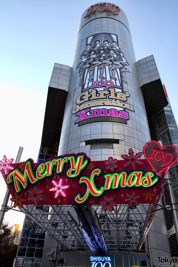 Merry Christmas Girls Generation in Tokyo