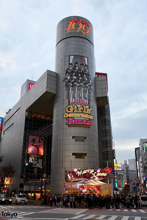 Shibuya 109 x Girls Generation