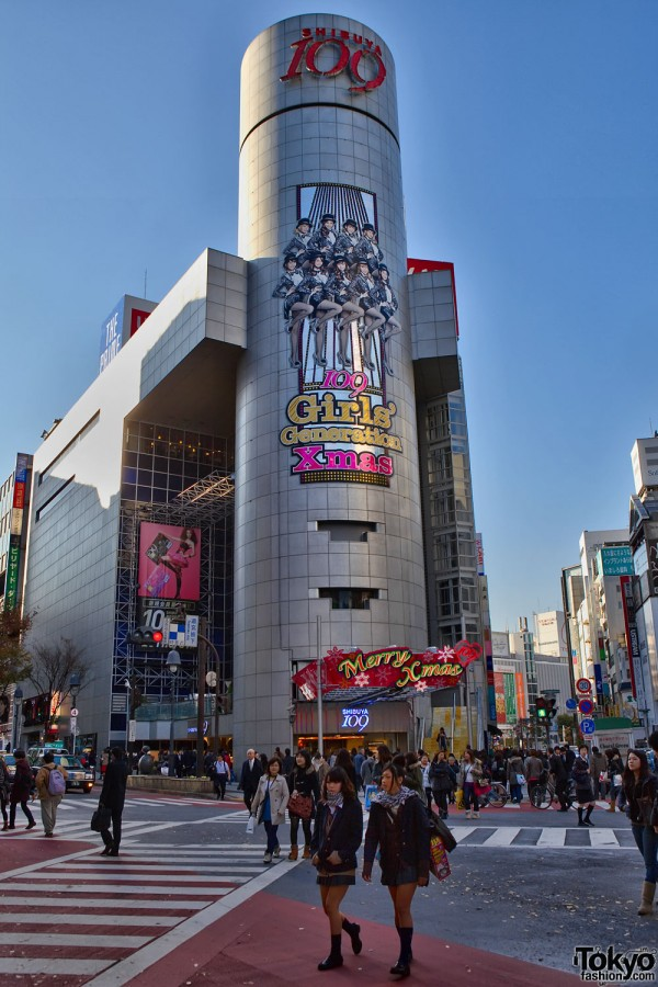Shibuya 109 x SNSD
