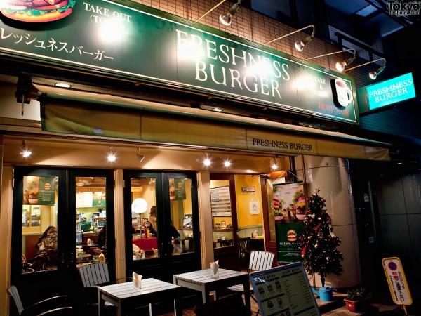 Freshness Burger Cat Street