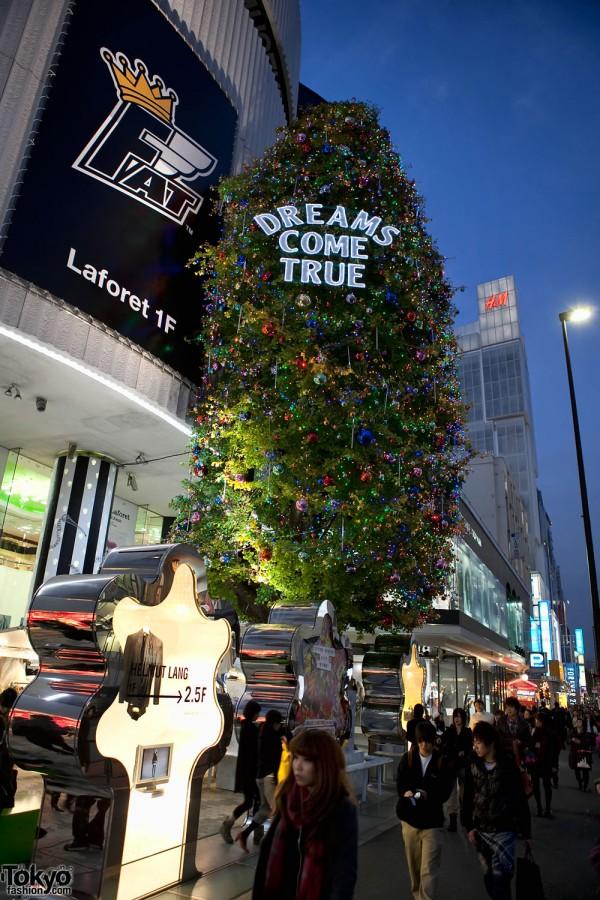 La Foret Harajuku Christmas Tree