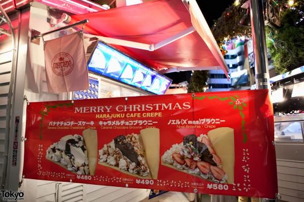 Harajuku Christmas Crepes