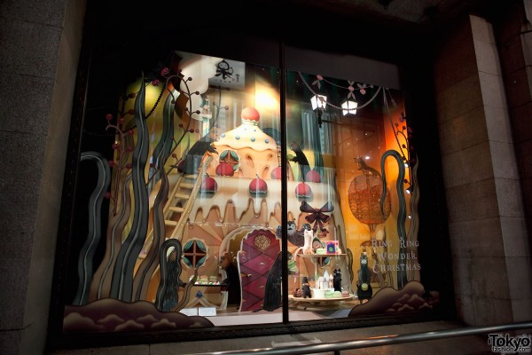Isetan Shinjuku Christmas Windows