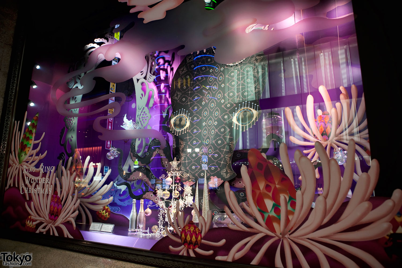 Isetan Shinjuku Christmas Windows 2010