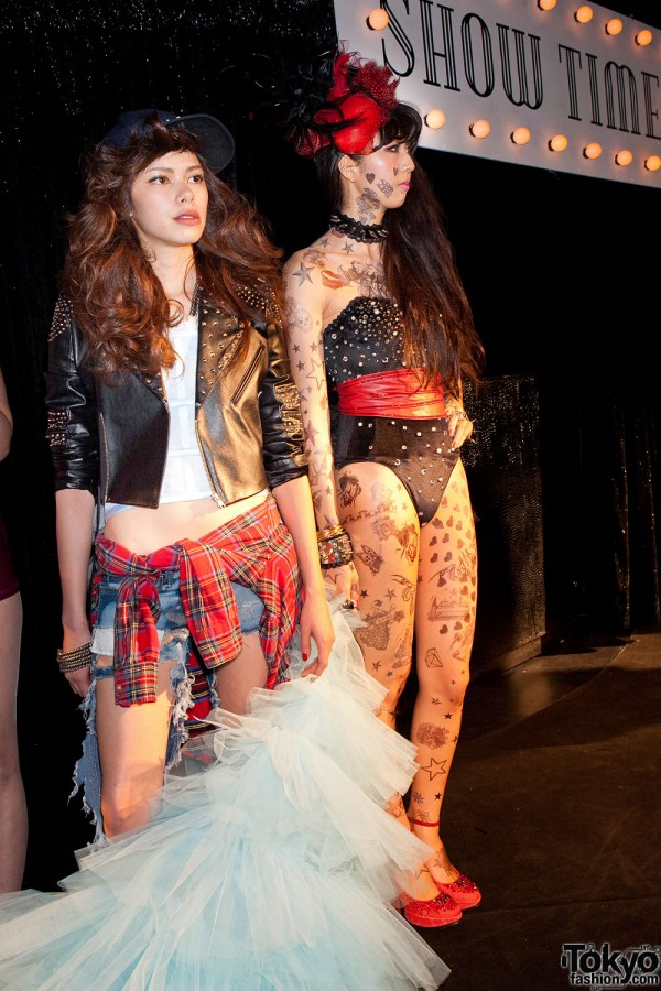 Rock Star Bang Fashion Show at Le Baron Tokyo