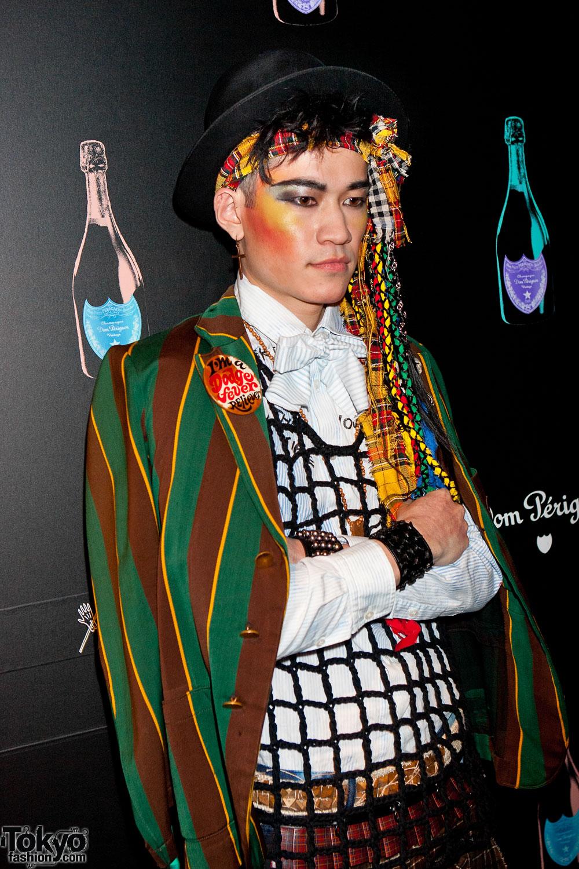 Rock Star Bang Fashion Show At Le Baron De Paris Tokyo