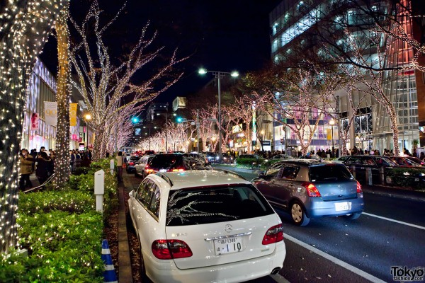 Omotesando Christmas Illumination