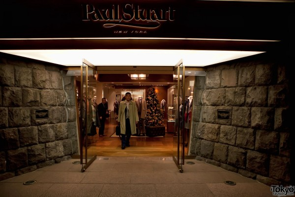 Paul Stuart Omotesando